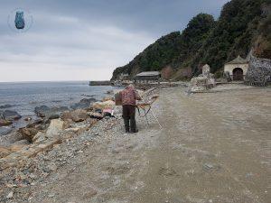 Kloster Iviron - Maler am Meer