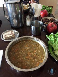 Kloster Karakallou: Essen in der Fastenzeit