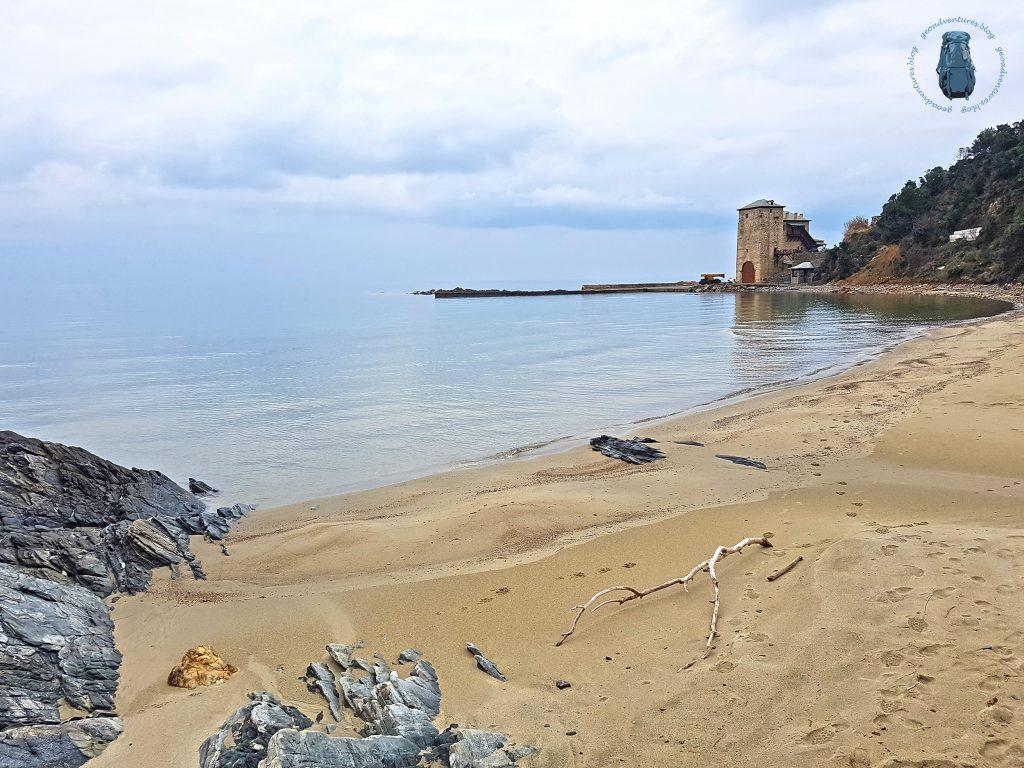 Kaliagra - Hafen des Klosters Koutloumousiou