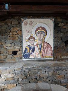 Kaliagra - Mosaik Maria und Jesus