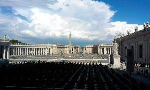 Geocoin Leid der gespaltenen Christenheit im Vatikan
