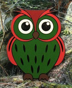 Owl Geocoin Till Eulenspiegel