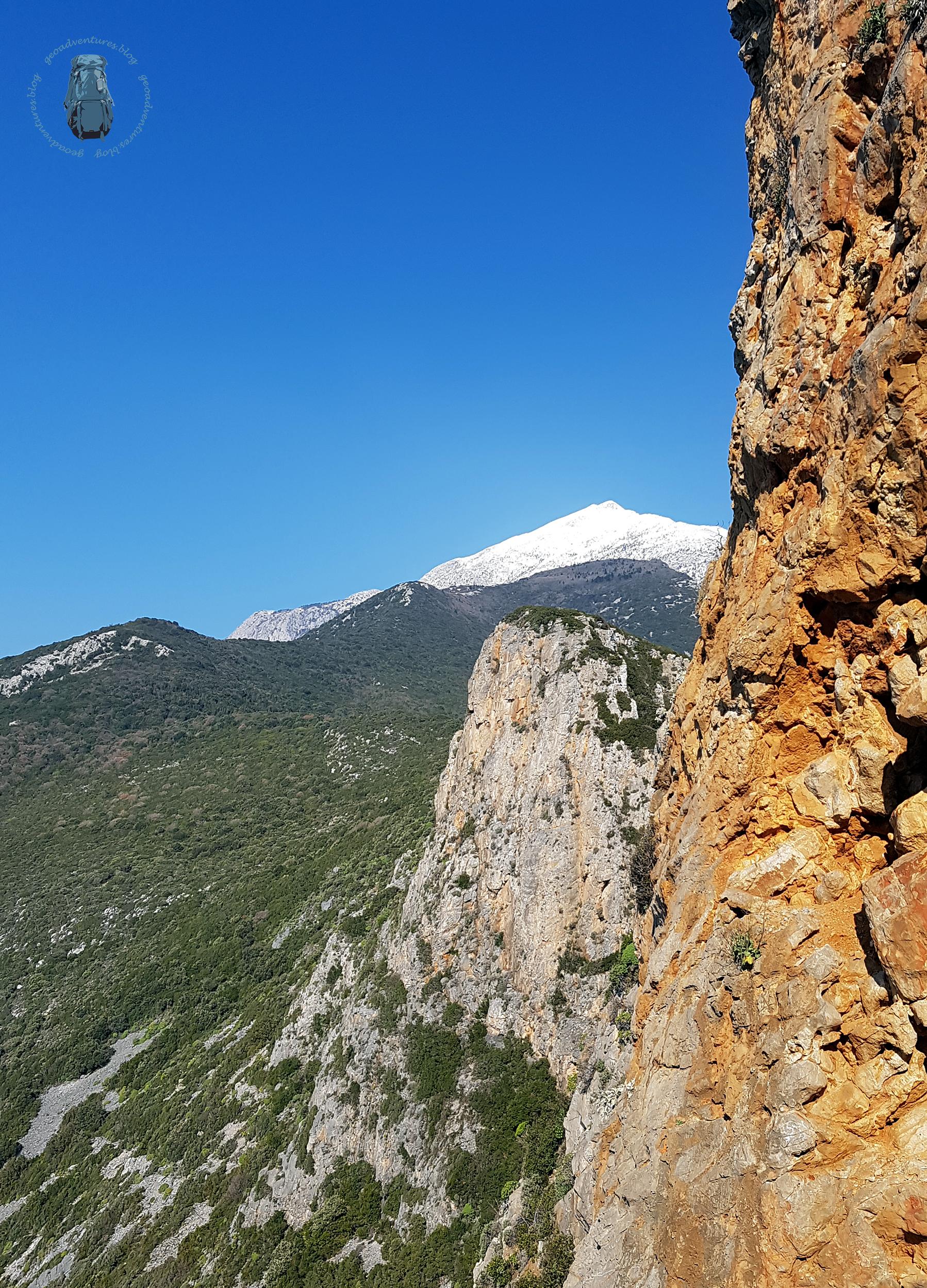 Cave of Athanasios - Ausblick auf den Athos