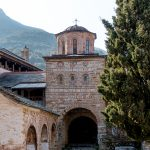 Megisti Lavra - Durchgang zur Kirche