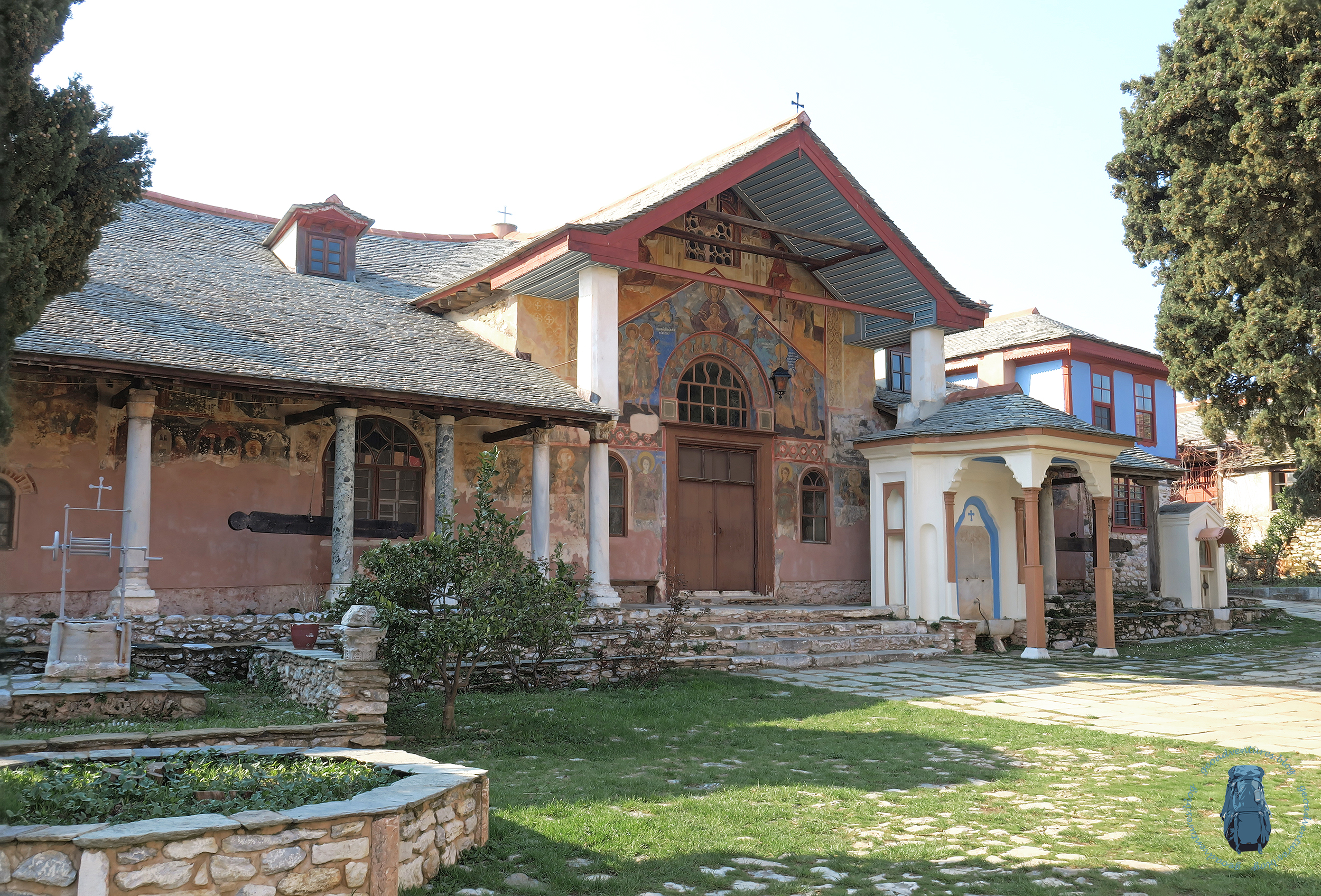 Megisti Lavra - Refektorium
