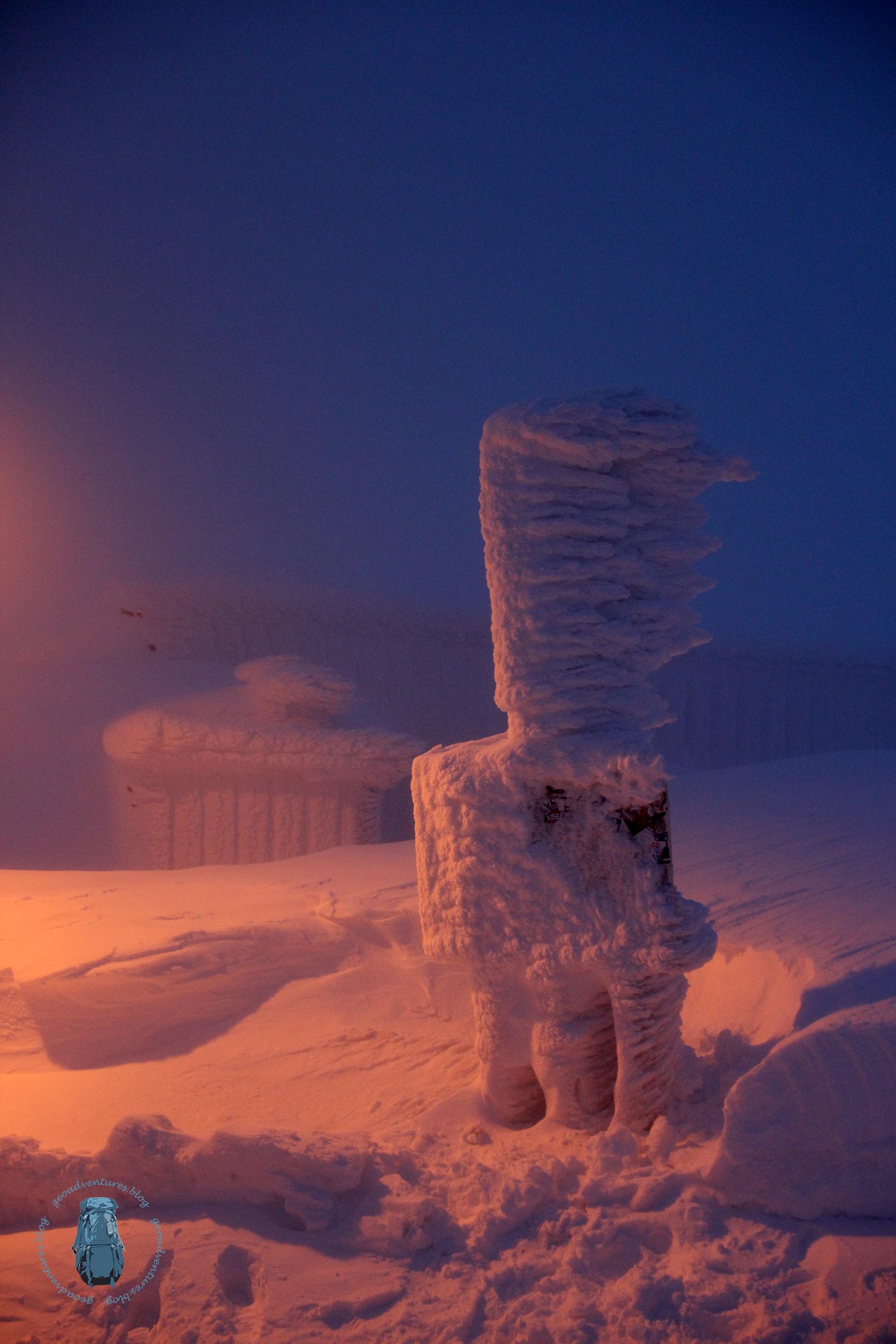 Brocken Winterlandschaft
