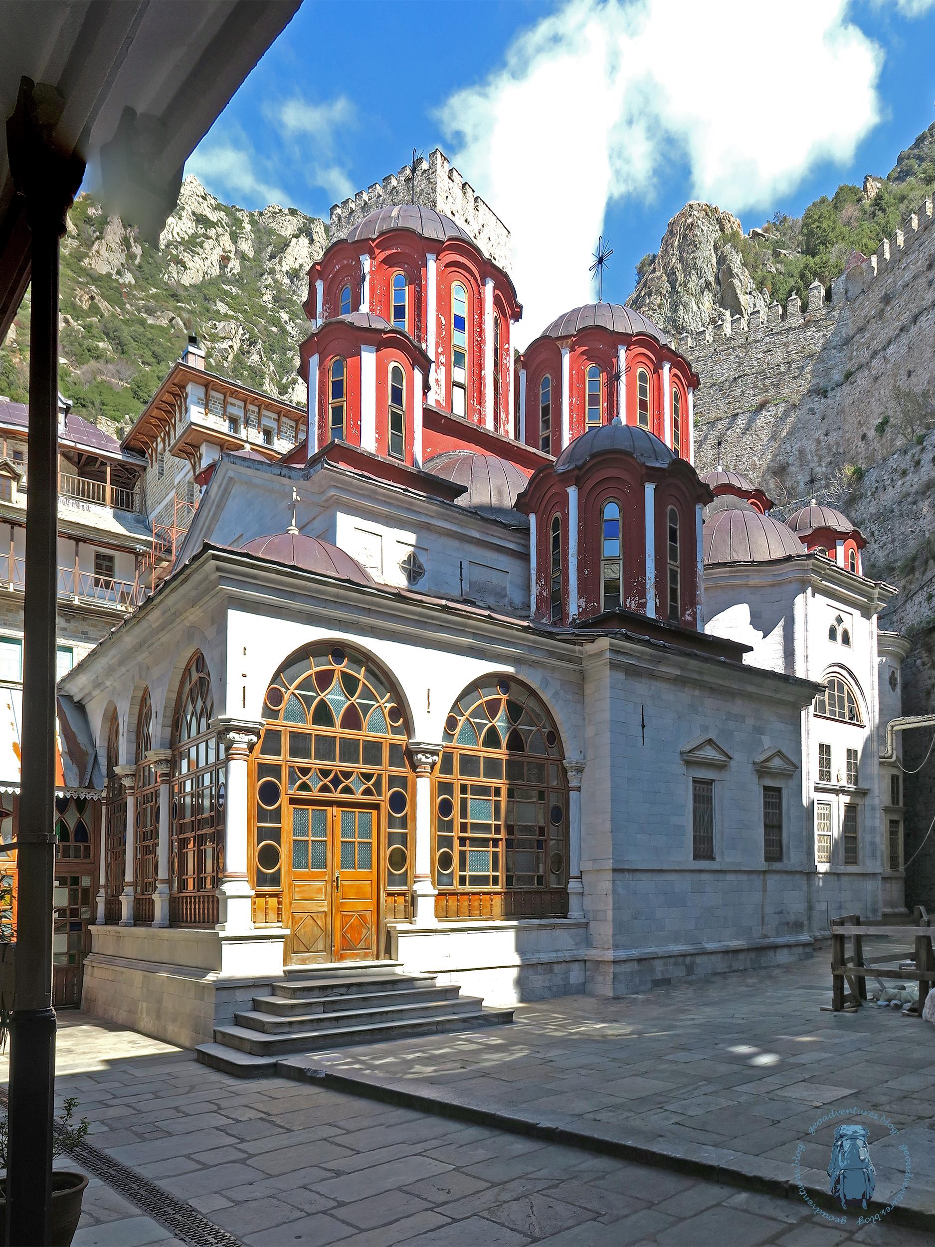 Agiou Pavlou: Kirche