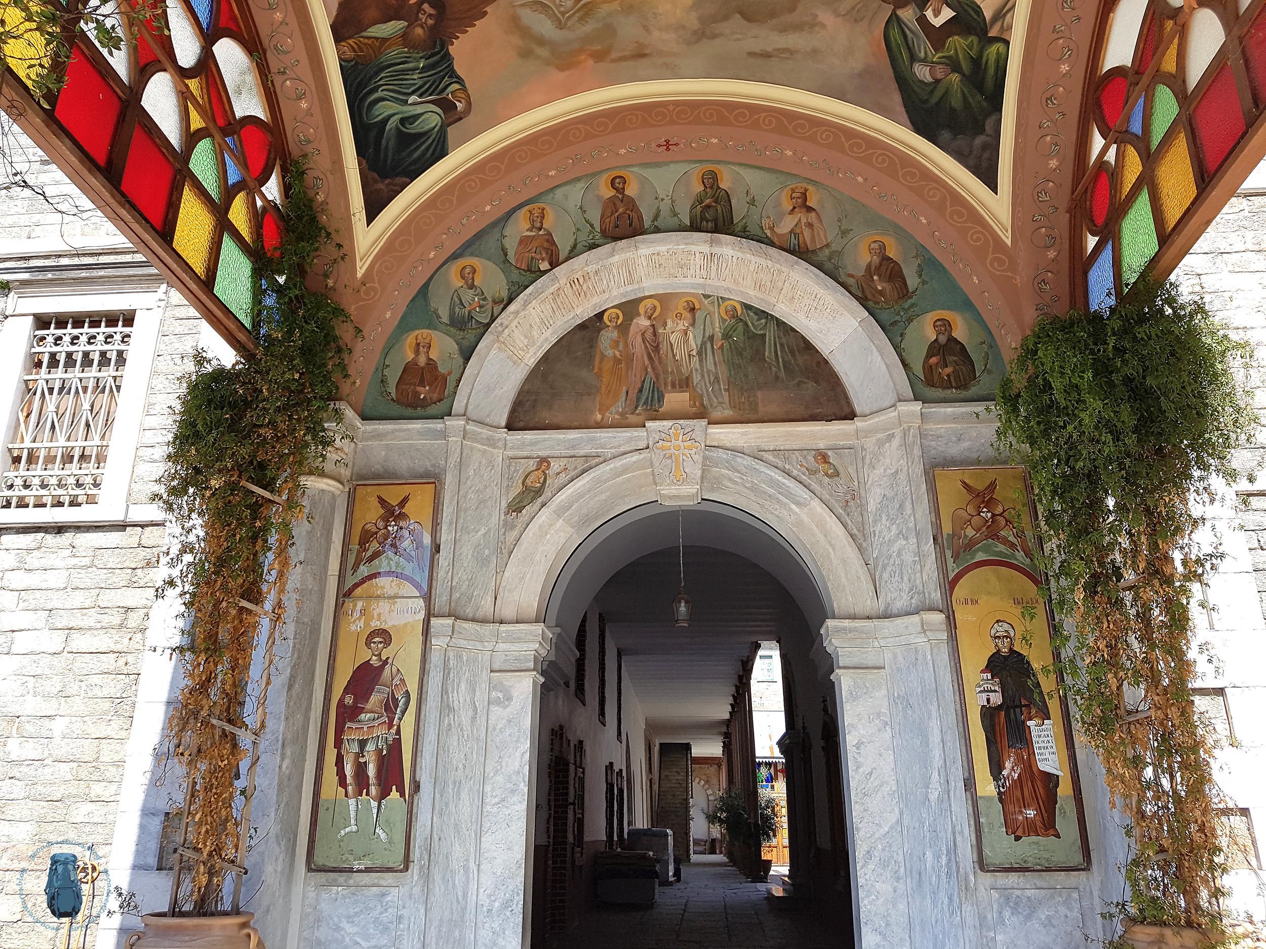 Agiou Pavlou: Eingang