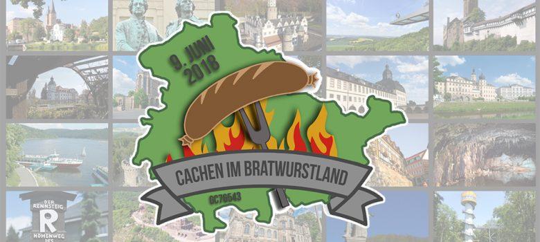Cachen im Bratwurstland Logo TW