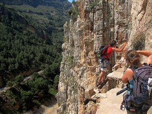Caminito del rey - Klettern -Cachen auf sechs der spektakulärsten Wanderwegen der Welt