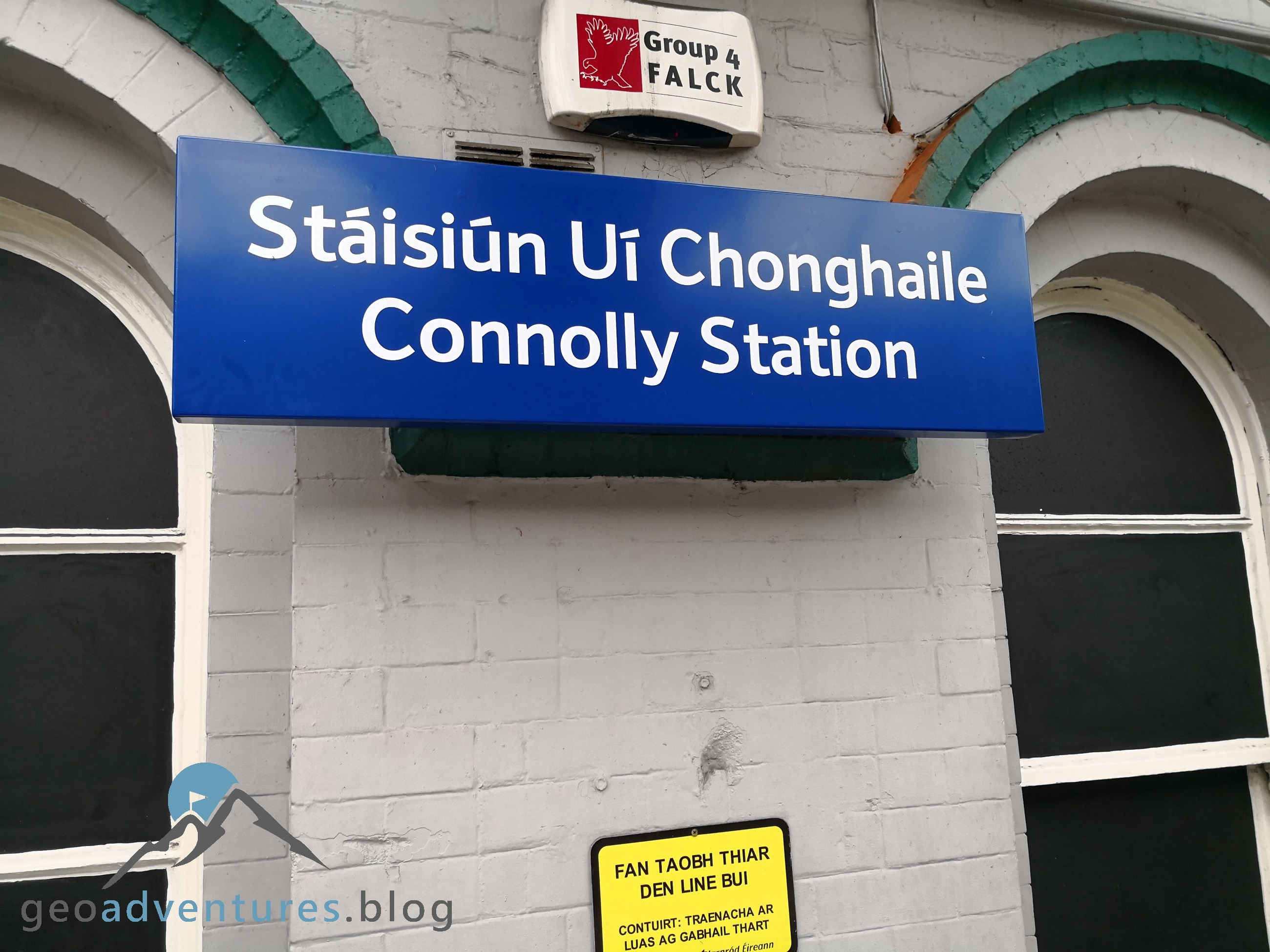 Geocaching Dublin - Transport