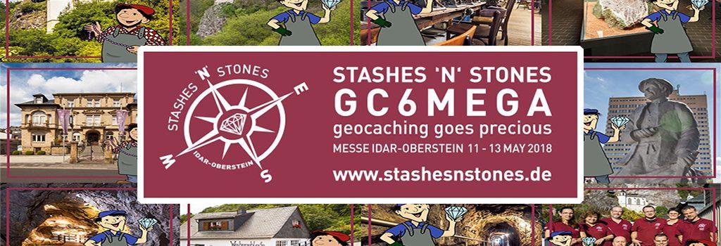 Geocaching in der Edelsteinregion: Stashes 'n' Stones in Idar-Oberstein ein super Erfolg!
