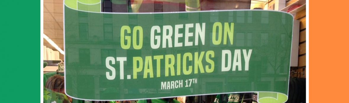 St. Patrick's Day in Dublin – Drei Farben, viel Guiness und Geocaching-History GC43