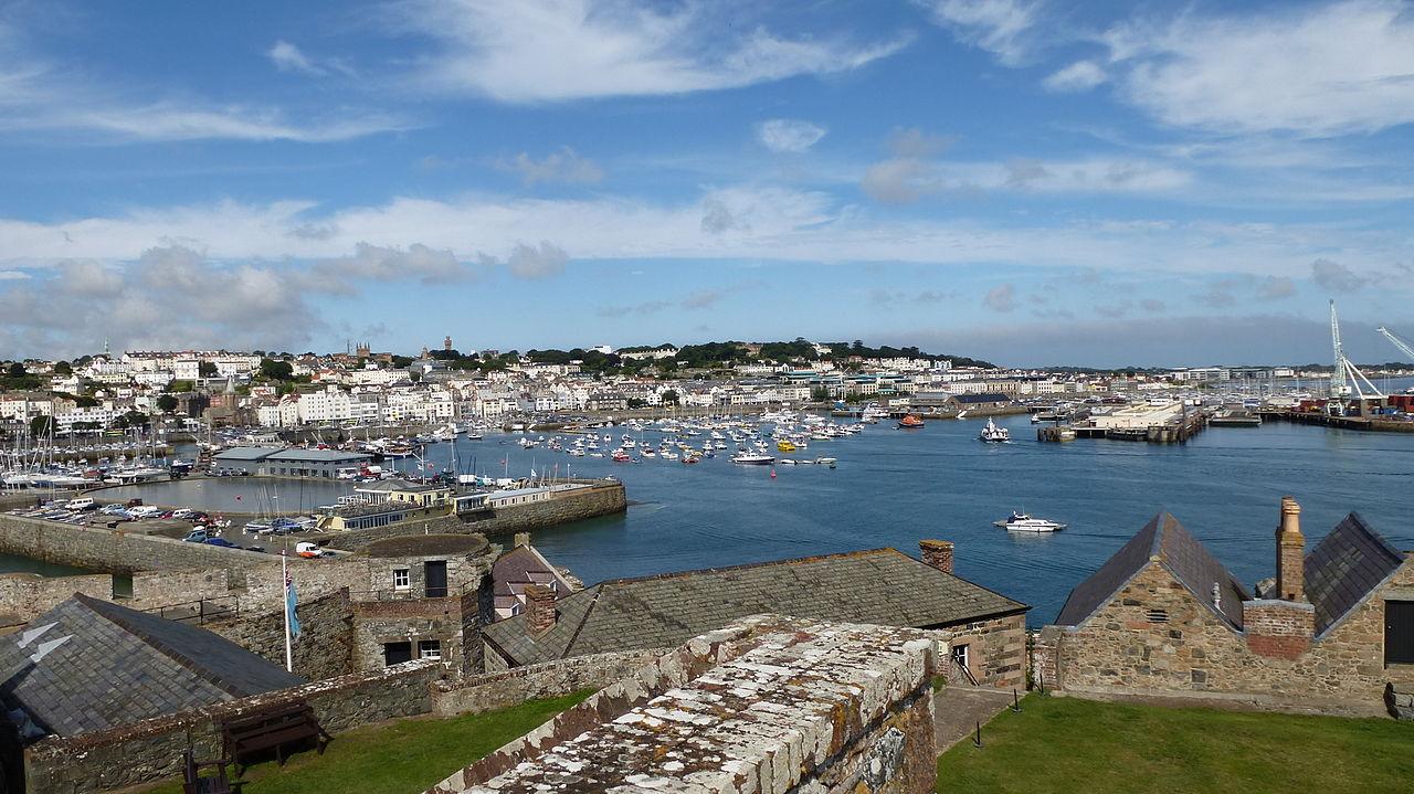 geocachen auf Guernsey und Jersey St- Peter Port