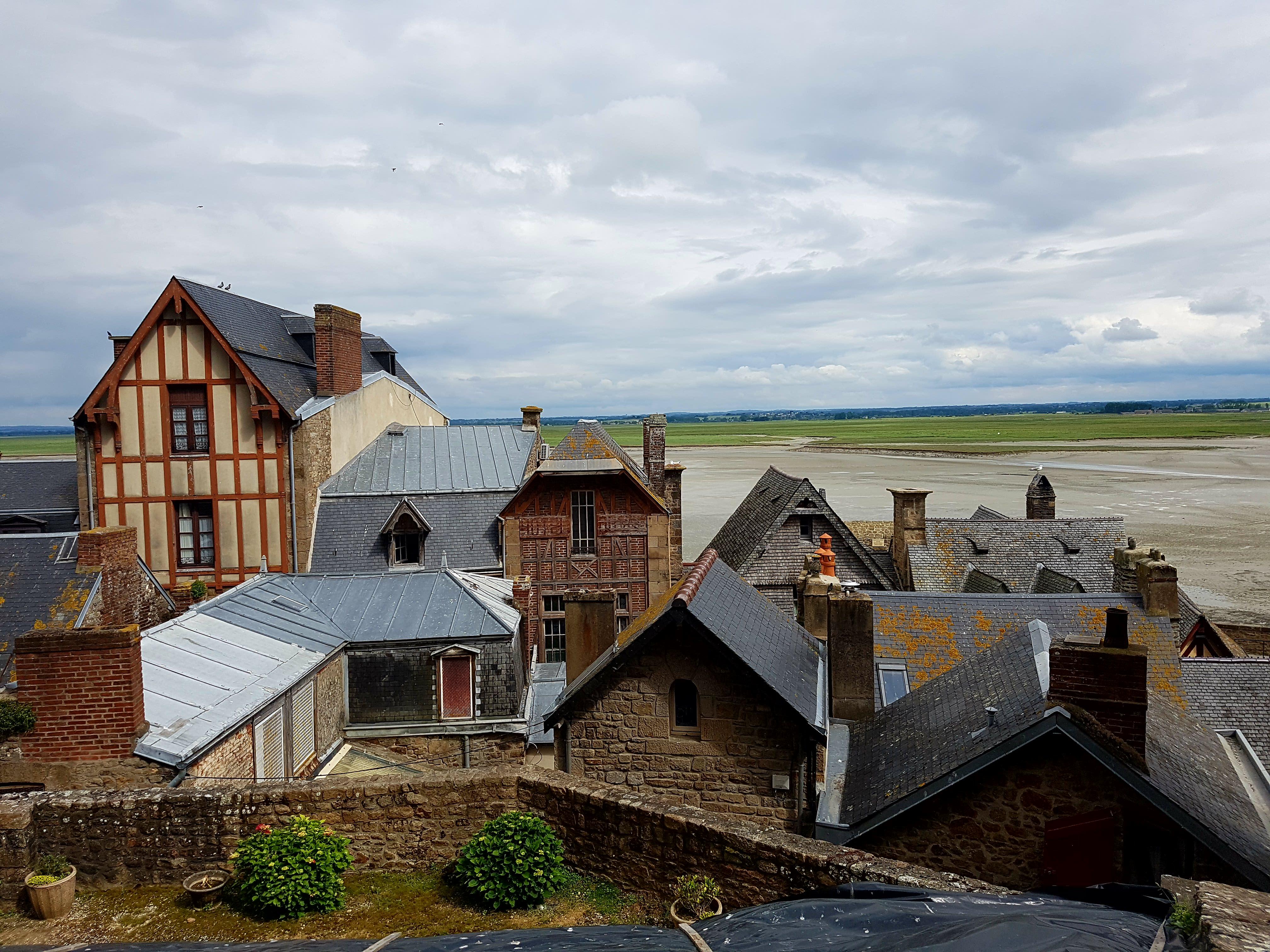 Mont-Saint-Michel - Blick aufs Dorf 3