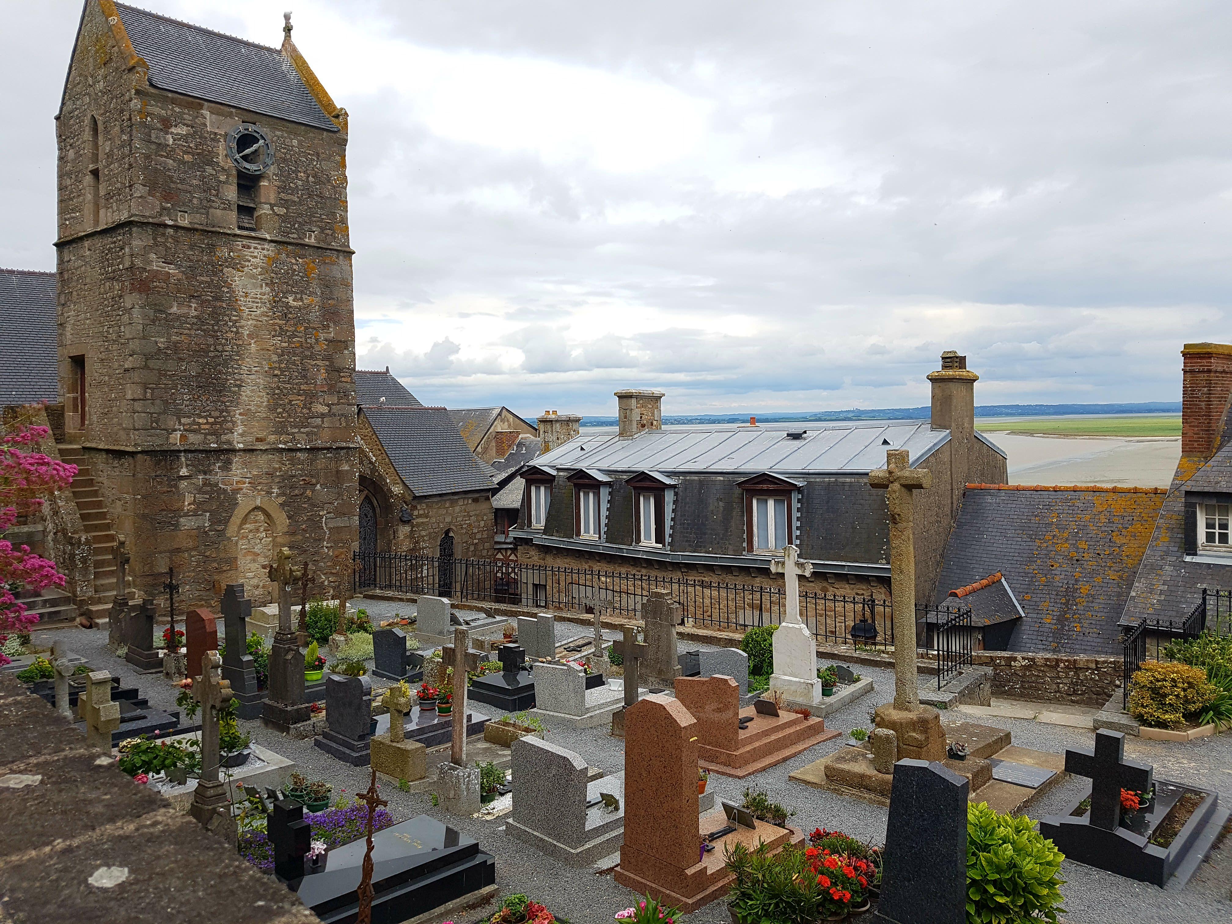 Mont-Saint-Michel Friedhof