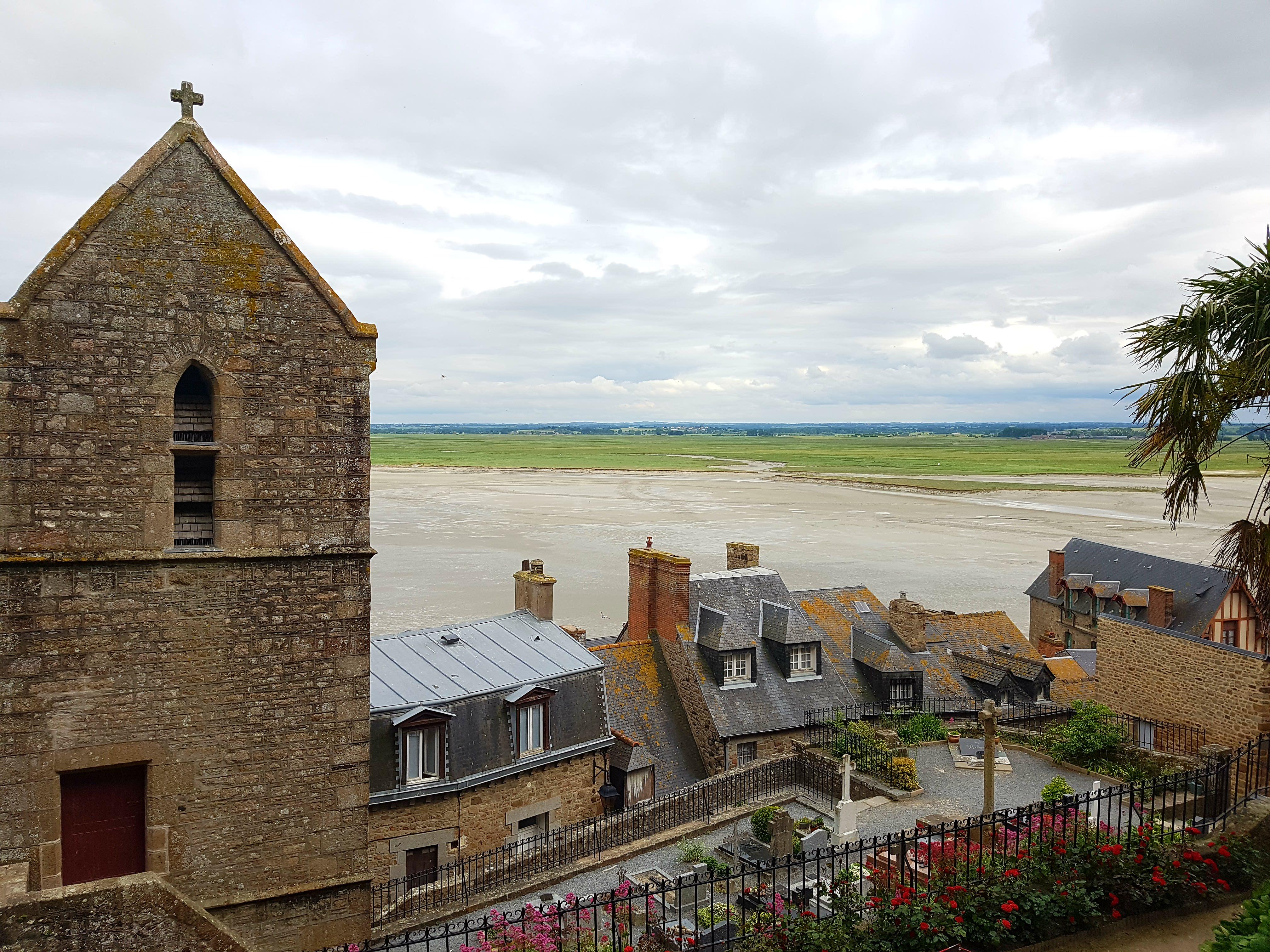 Mont-Saint-Michel - Blick aufs Dorf 2