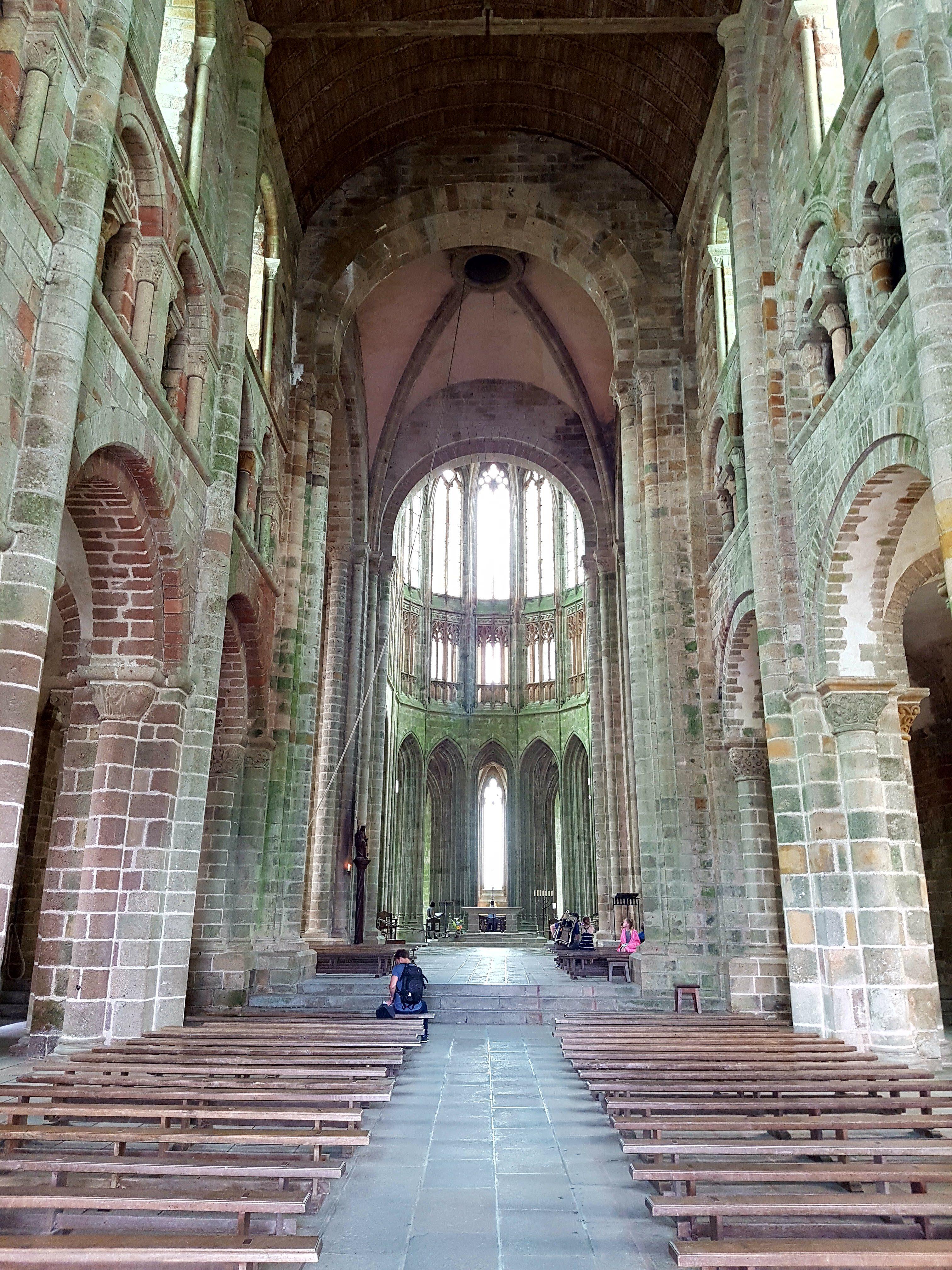 Mont-Saint-Michel - Innensicht 2