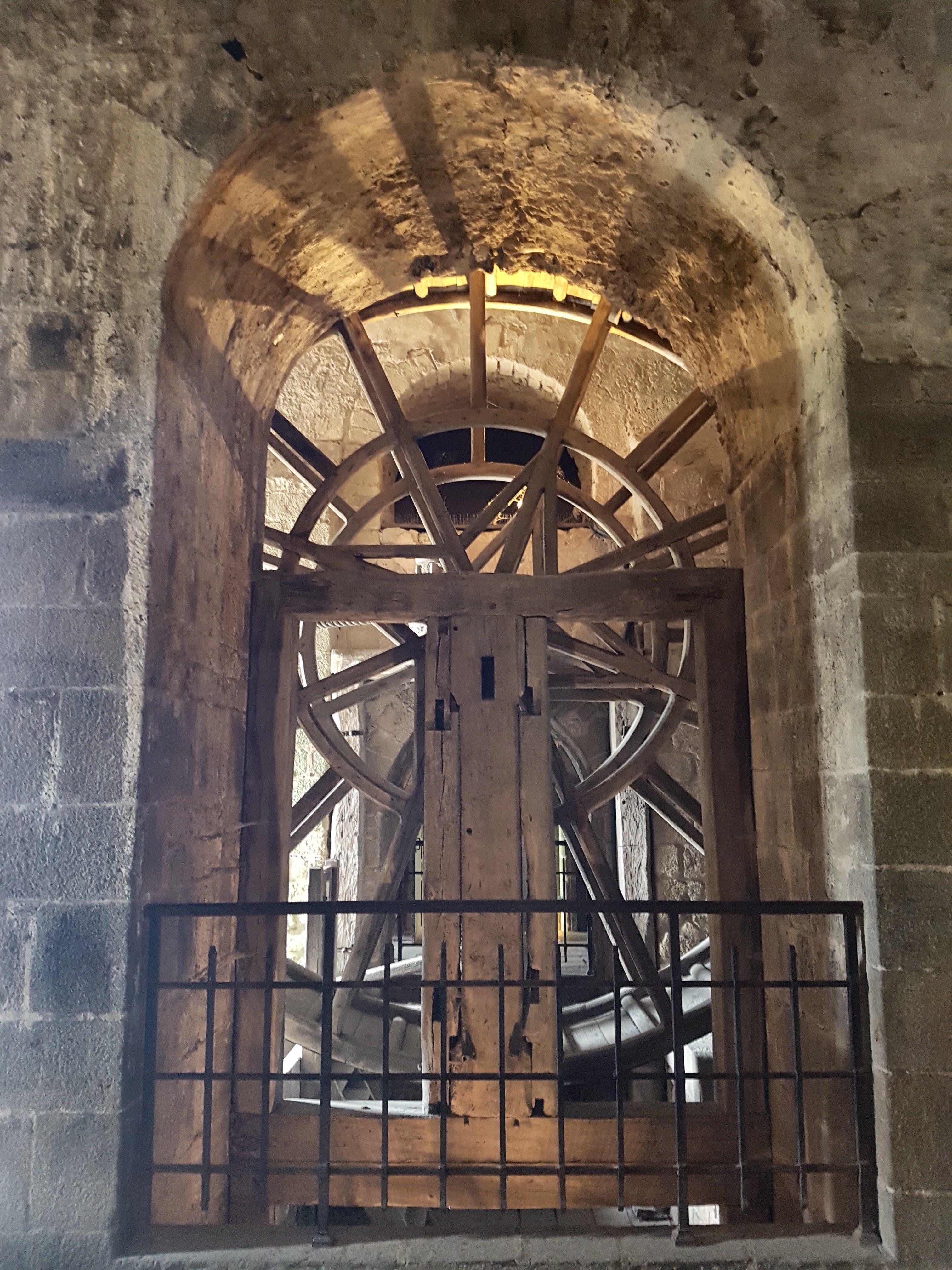 Mont-Saint-Michel - Seilwinde 2