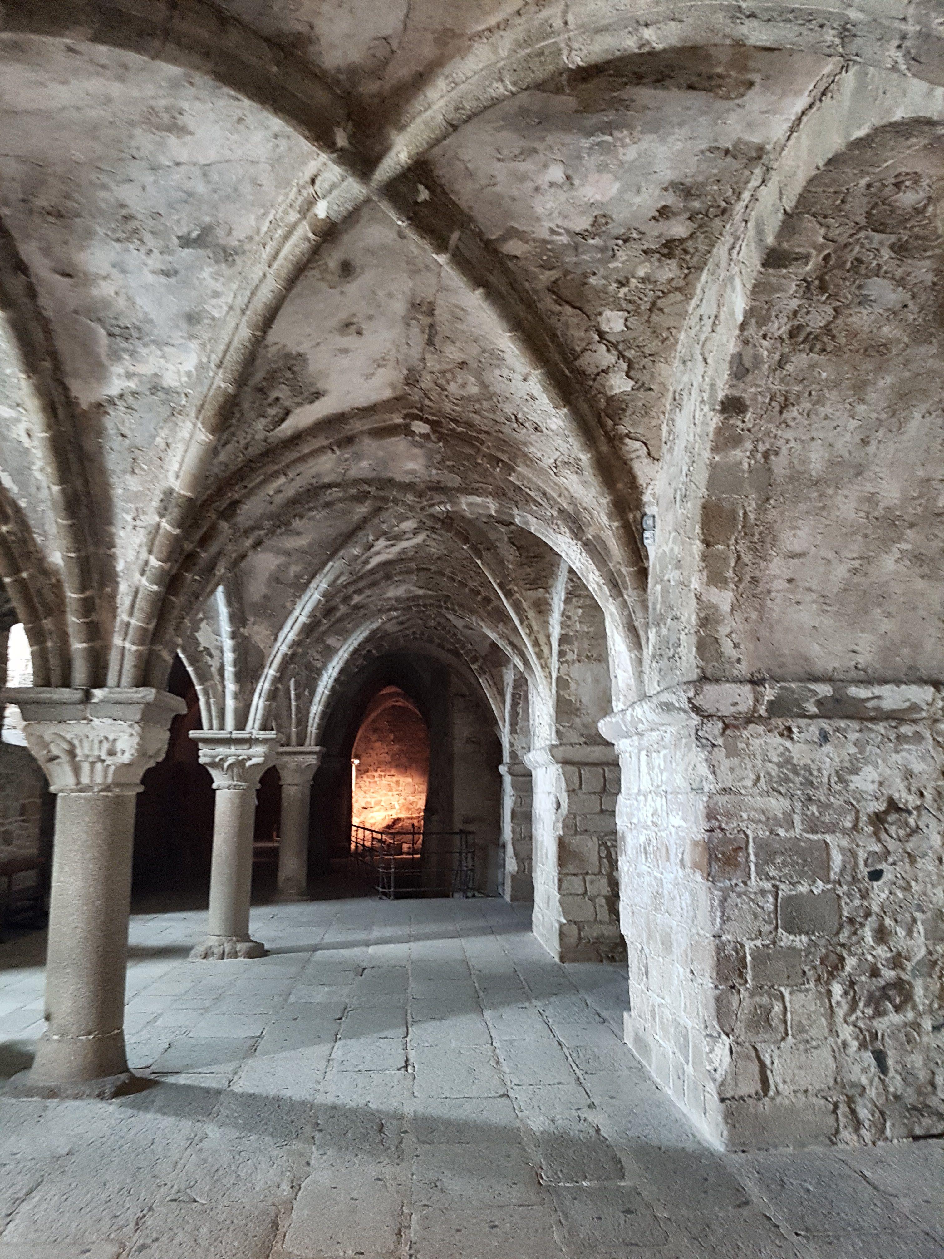 Mont-Saint-Michel - Katakomben