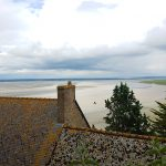 Mont Saint-Michel - Blick aufs Meer 1