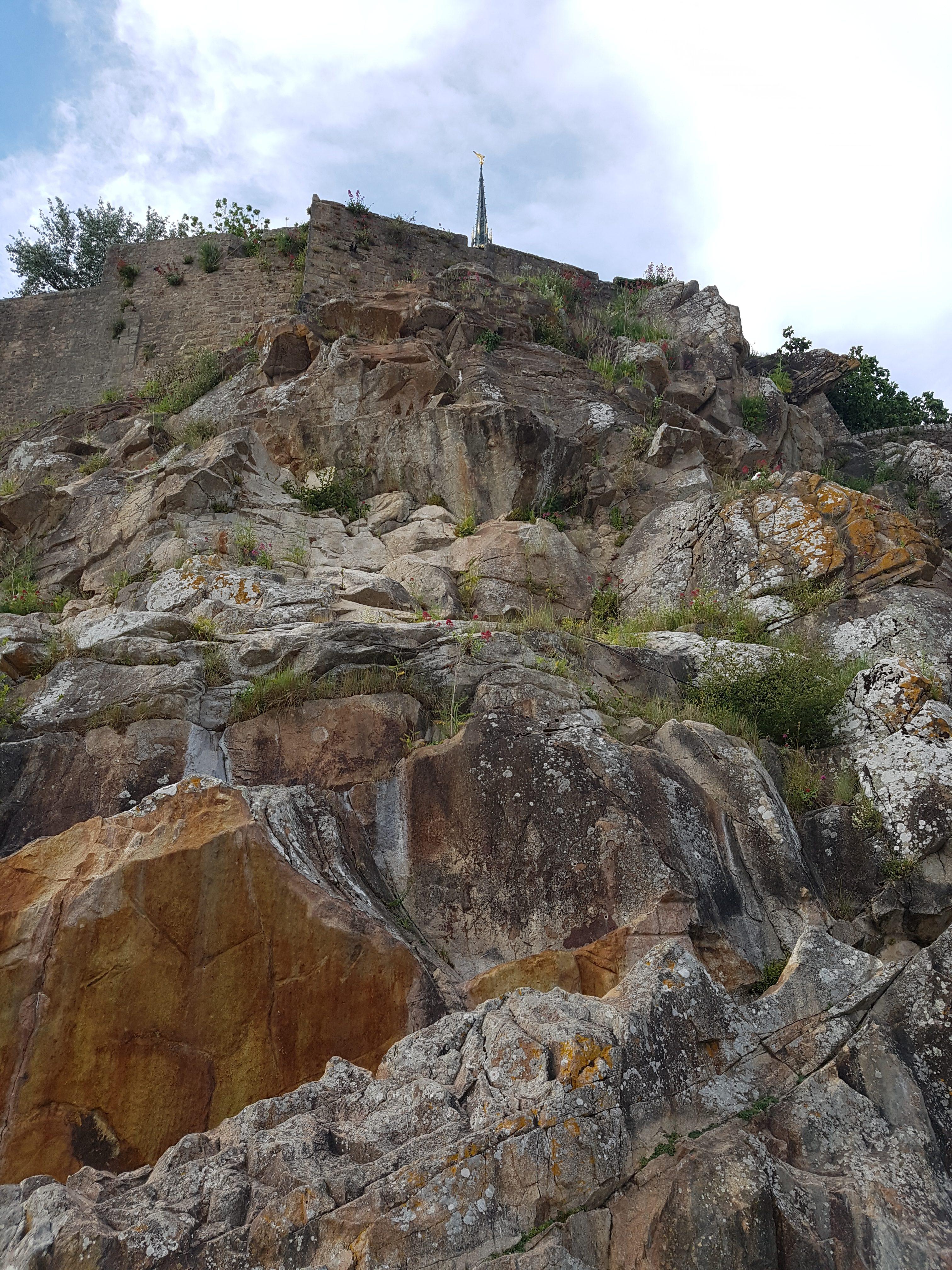 Mont-Saint-Michel - Felsen