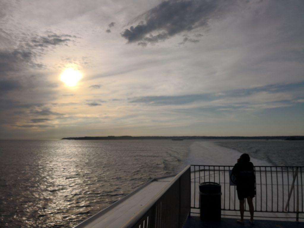 Fähre Jersey St. Malo