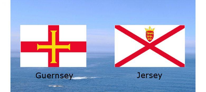 Guernsey und Jersey