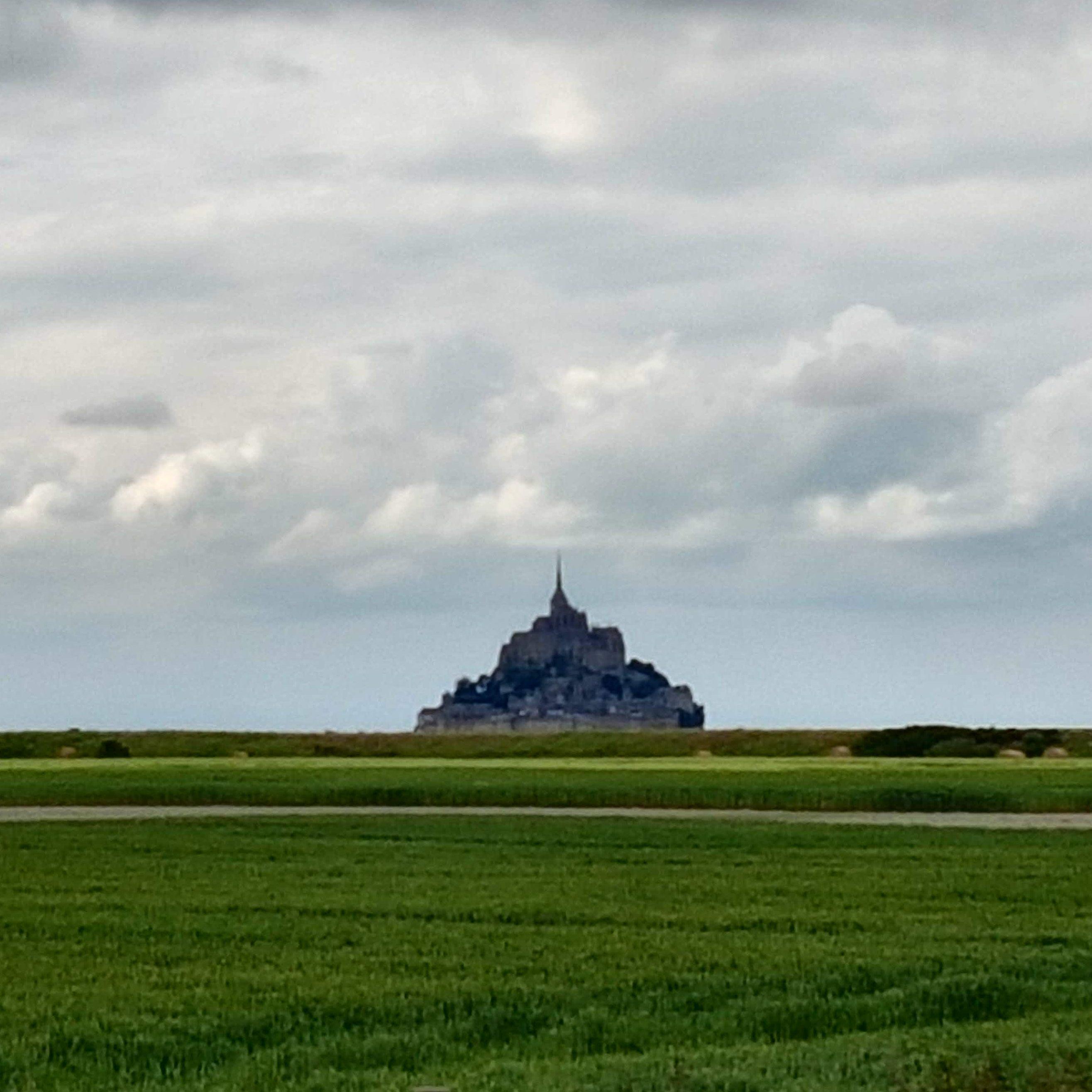 Silhouette Mont-Saint-Michel