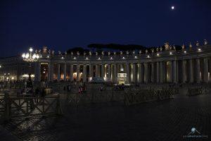 Abendstimmung Petersplatz