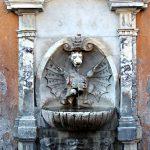 Brunnen auf der Via della Conciliazione
