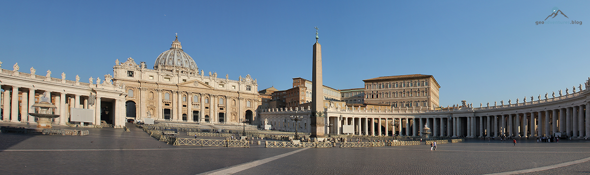 Vatikanstadt – Geocaching unter dem Blick der Heiligen Apostel im Herzen Roms