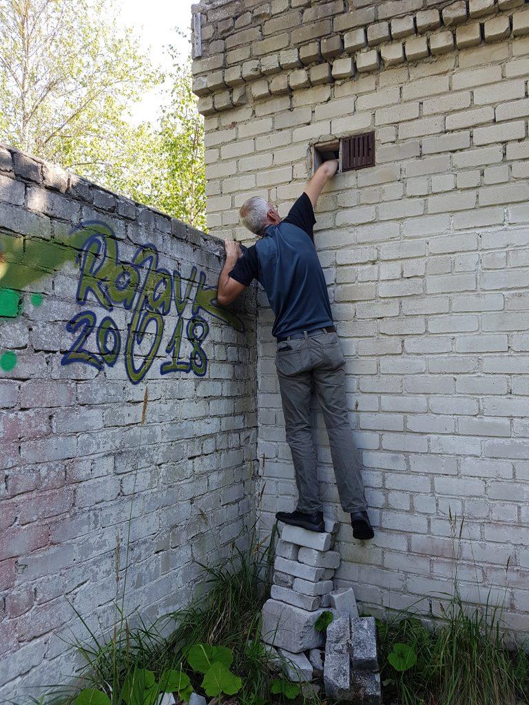 Geocaching in Estland - Gefängnis Rummu Allzweckkleber