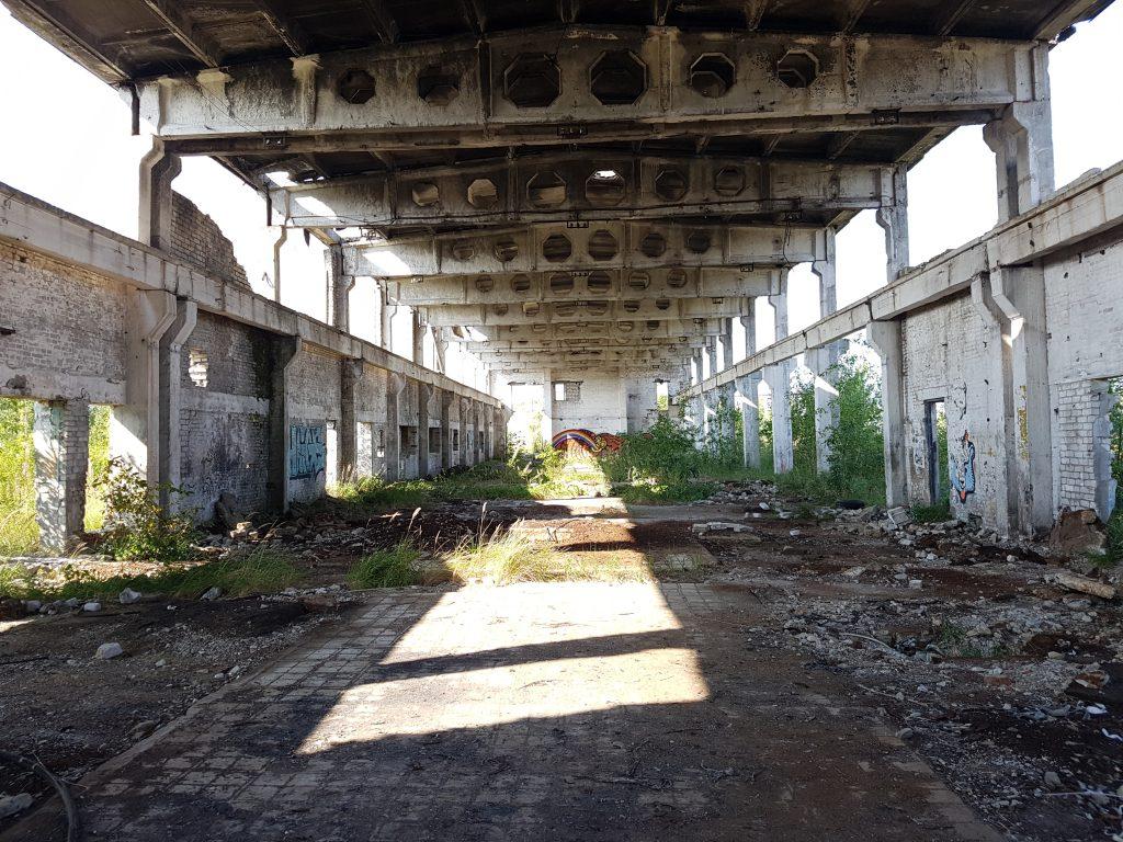 Geocaching in Estland - Gefängnis Rummu Runie 7