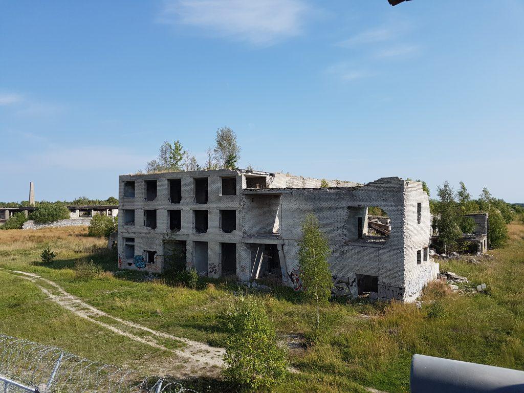 Geocaching in Estland - Gefängnis Rummu Ruine 1
