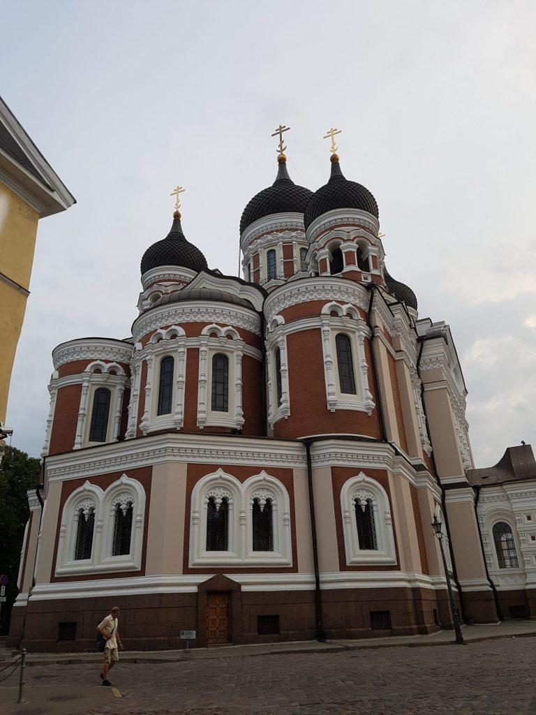 Geocaching in Estland - Tallinn Kirche