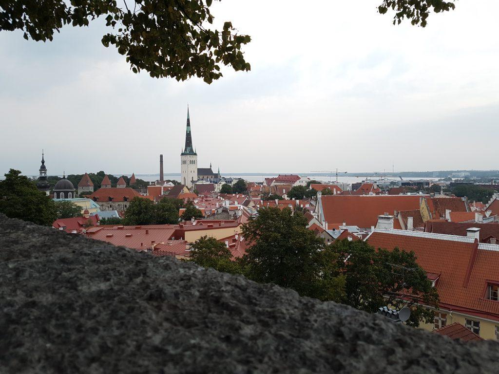 Geocaching, Tallinn, Estland, Stadtmauer