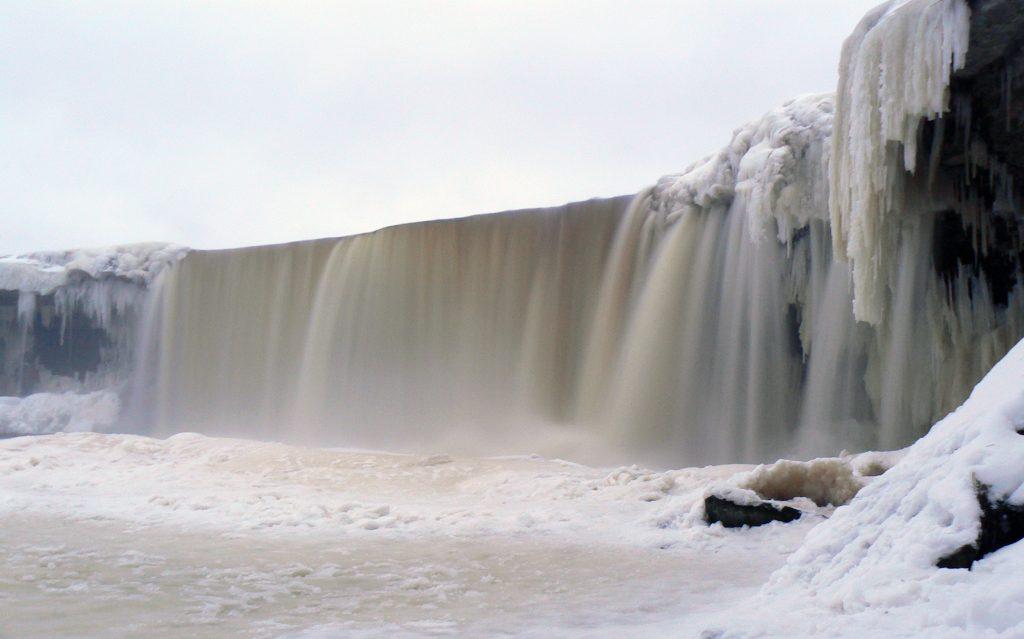 Jägala Wasserfall, Estland, Geocaching
