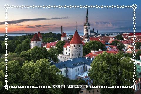Geocaching Ländersouvenir Estland
