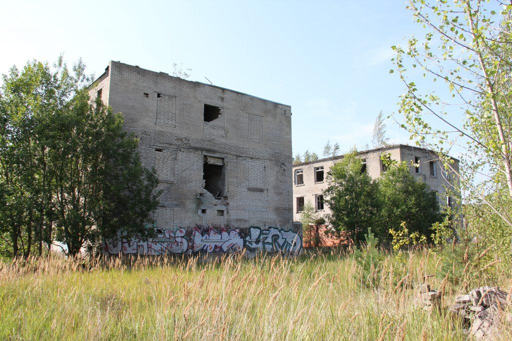 Geocaching in Estland - Gefängnis Rummu Ruine 2