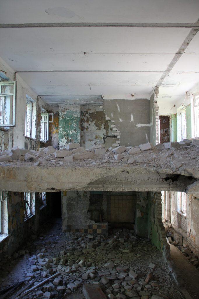 Geocaching in Estland - Gefängnis Rummu Ruine 4