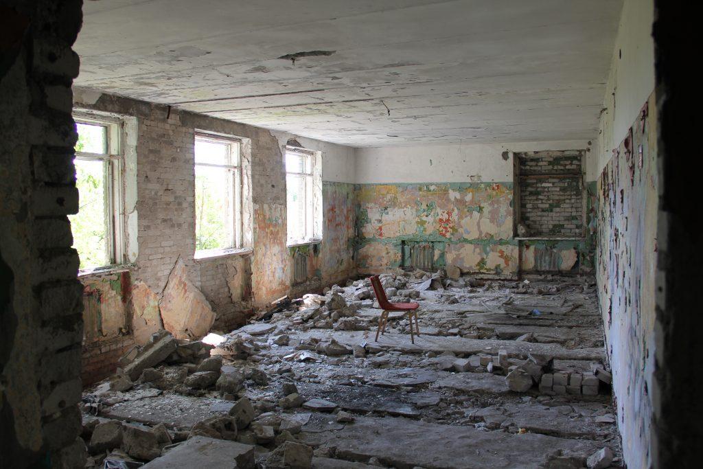 Geocaching in Estland - Gefängnis Rummu Runie 6
