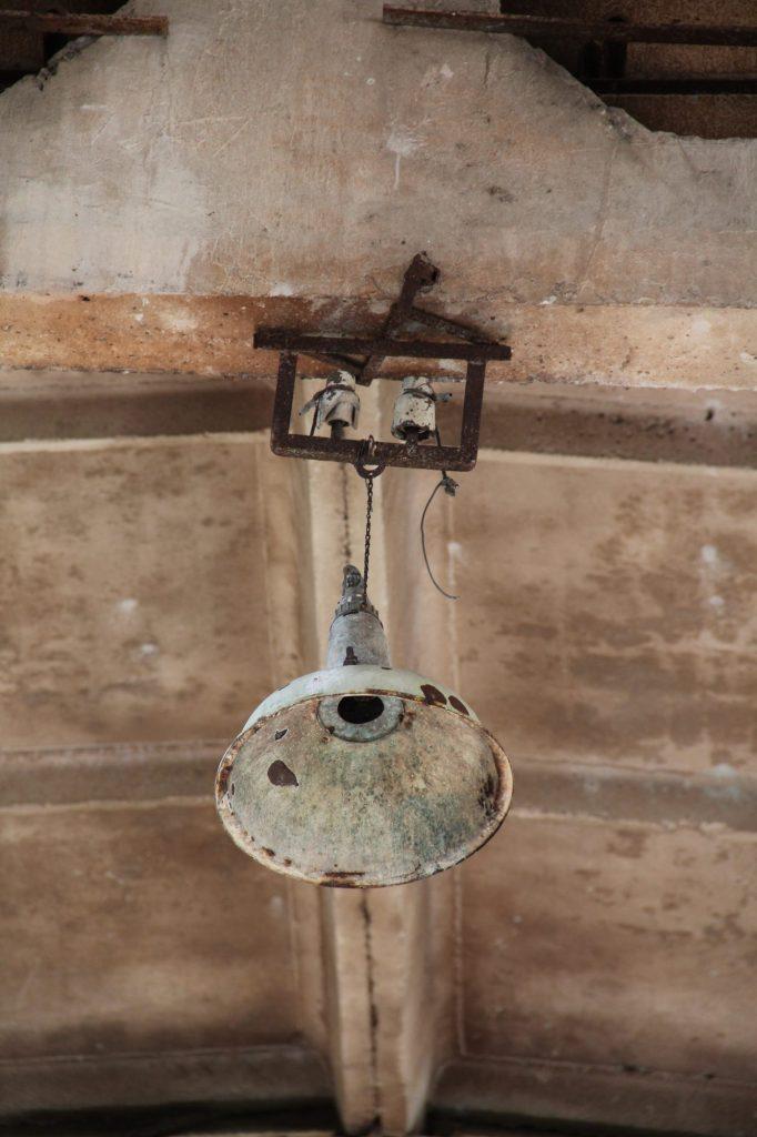 Geocaching in Estland - Gefängnis Rummu Lampe