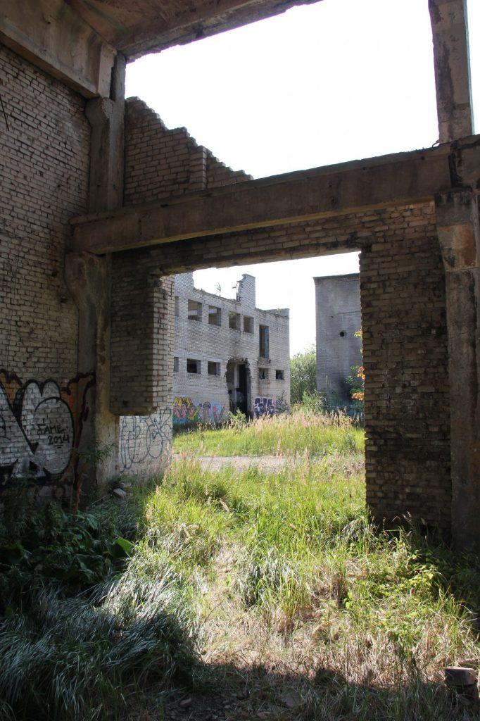 Geocaching in Estland - Gefängnis Rummu Runie 5