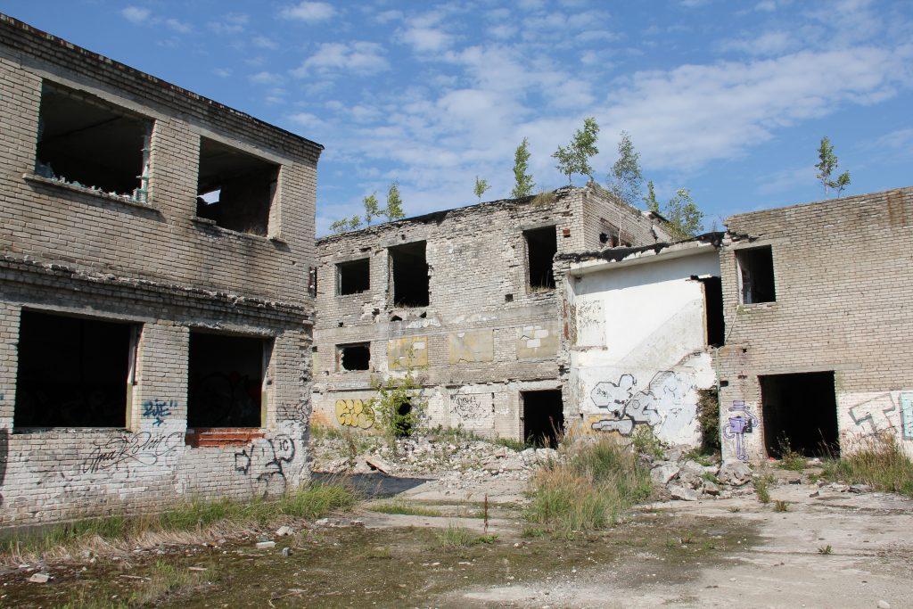Geocaching in Estland - Gefängnis Rummu Ruine 3