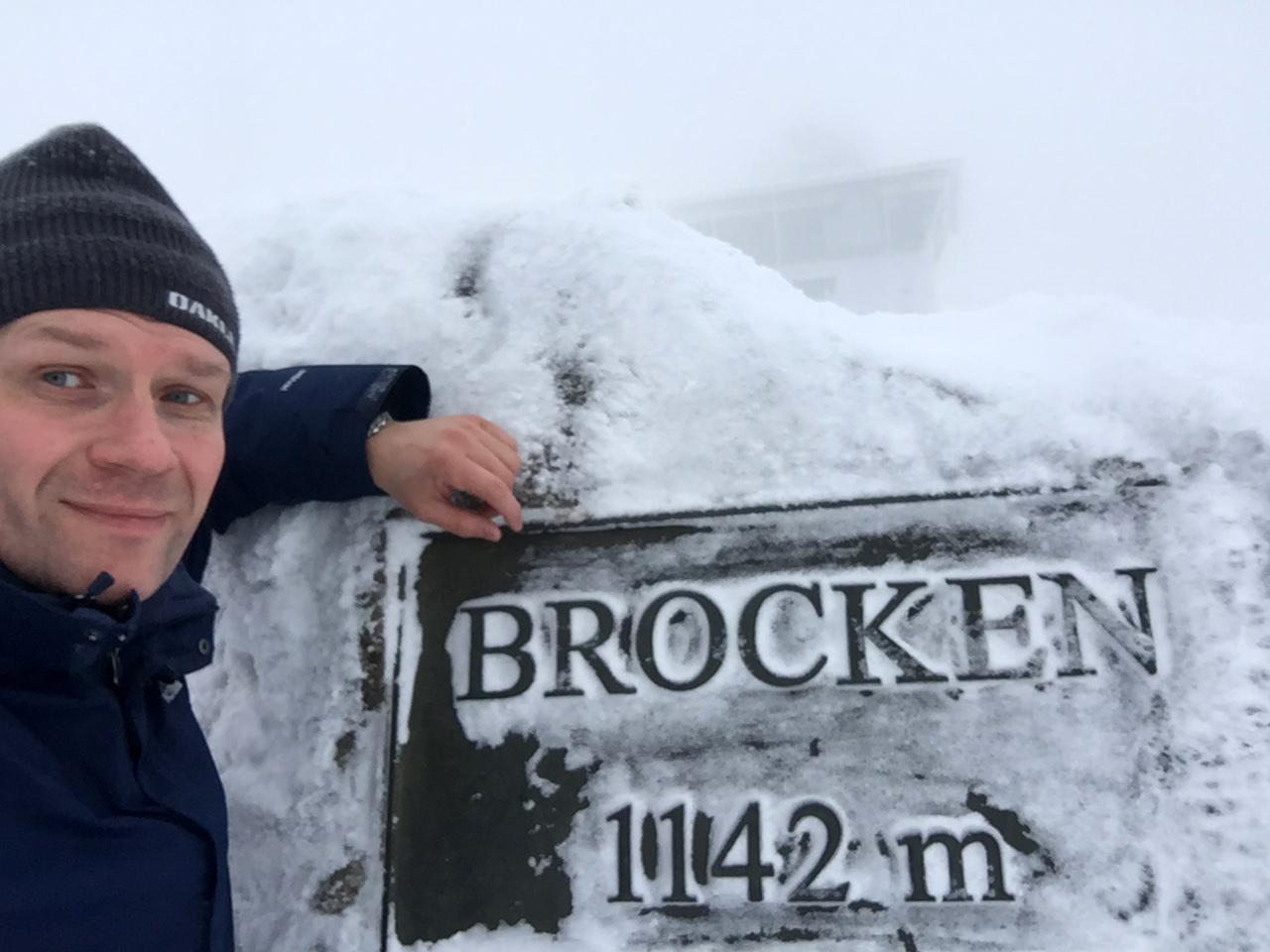 Alex am Brockenstein
