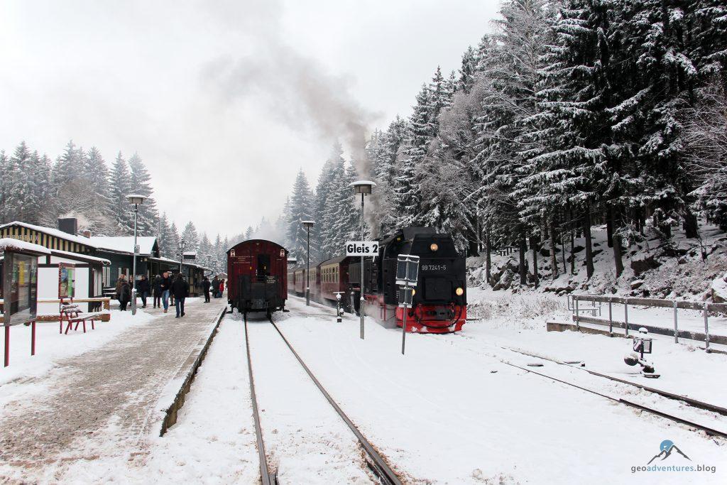 Rendezvous im Bahnhof Schierke