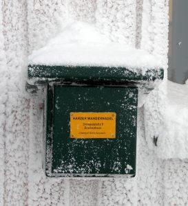 Harzer Wandernadel - Stempelkasten am Brockenhaus