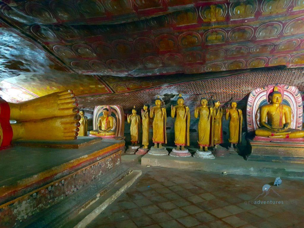 Die Höhlentempel von Dambulla Geocaching Sri Lanka