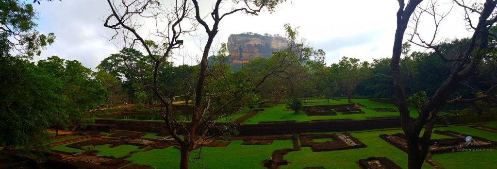 Löwenfels - Sigiriya - Geocaching Sri Lanka